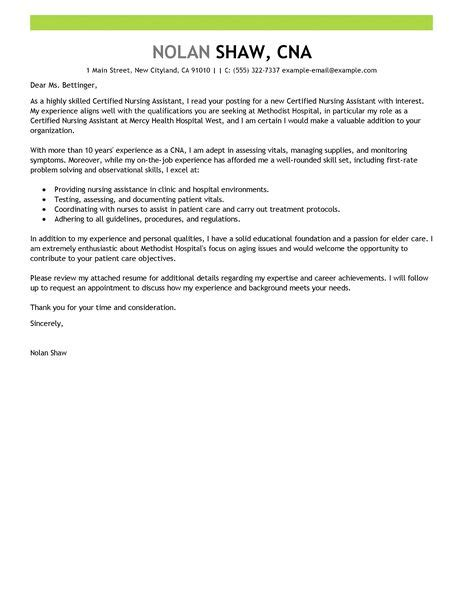 Home Health Aide Cover Letter by Nursing Aide And Assistant Cover Letter Exles Healthcare Cover Letter Exles Livecareer