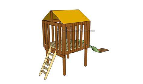 how to build a backyard fort outdoor playset plans myoutdoorplans free woodworking