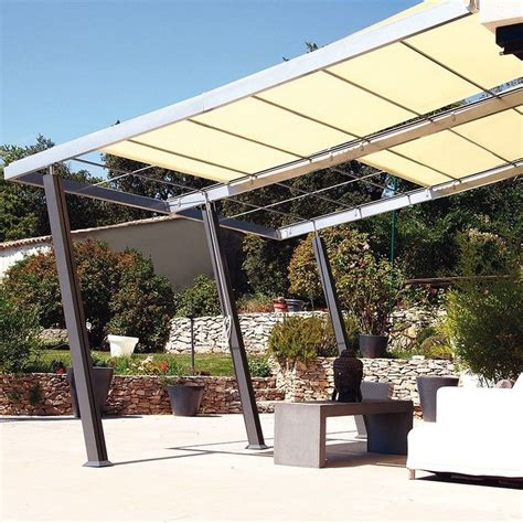 terrasse 4x4 tonnelle adoss 233 e aluminium 4x4 m stores enroulables