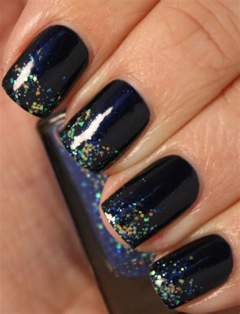 Nail With Nail Only by 80 Attractive Glitters Nail Arts To Try Once