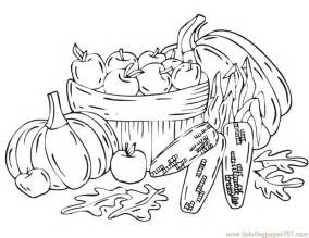 harvest coloring pages autumn color pages coloring home