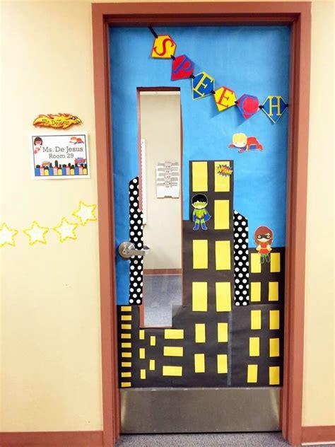 Room Door Decorations by Speech Room Speech Room Style