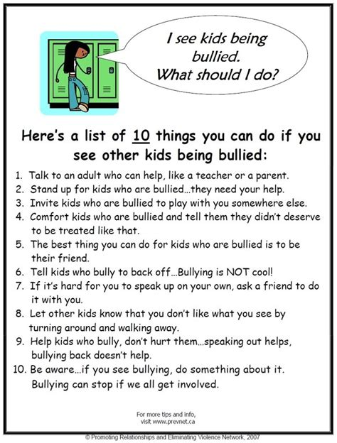 10 Things You Can Do At School To Lose Weight by What Should I Do If I See Someone Being Bullied 171 Culver