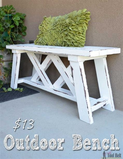 bench landscape how to build an outdoor bench with free plans