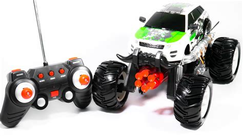 cool car toy 100 monsters truck videos jams remote control grave