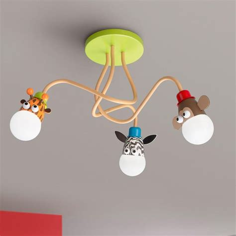 Animal Ceiling Light Genius And Safari Animals Ceiling Light Take The Jungle Animals Zoo Friends Or Safari