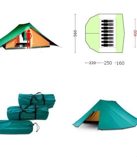 la tenda scout tenda 8 posti bertoni scout 8