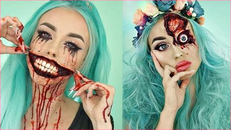 scary halloween makeup ideas    real