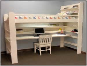 loft bed with desk white loft bed with desk