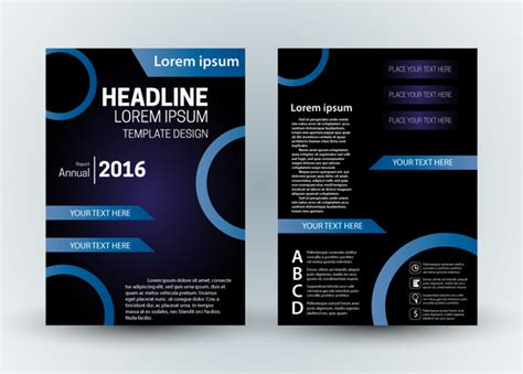 templates flyers cdr brochure design templates cdr format free download white