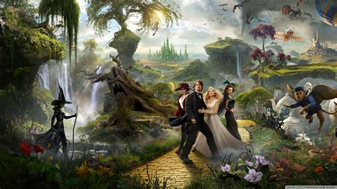 Watch Oz Great Powerful 2013 View Of 2013 Oz The Great And Powerful Movie Wallpaper Hd Wallpapers