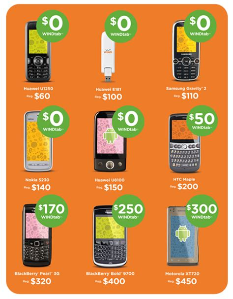 phone wind mobile wind mobile launches tab service up to 150 phone cost