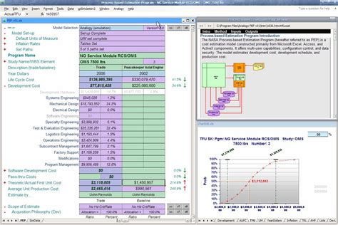 Cycle Cost Analysis Spreadsheet by Propulsion Systems Analysis Branch