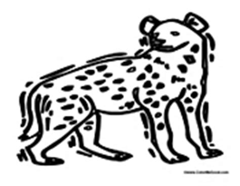 baby hyena coloring page pin baby hyena colouring pages on pinterest