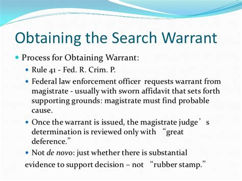 Warrant Search Responding To Grand Jury Subpoenas Search Warrants
