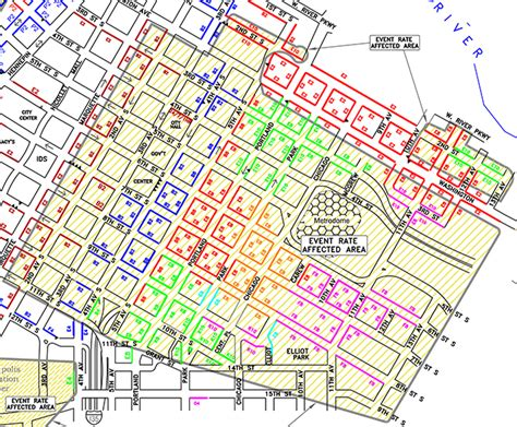 nyc parking map downtown minneapolis map parking