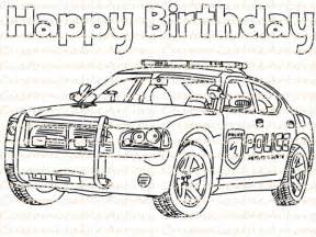 police car coloring pages 50959