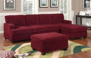 f7181 wine sectional sofa set by poundex
