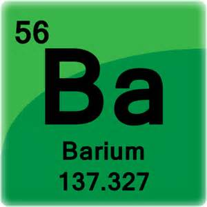 barium element cell science notes and projects
