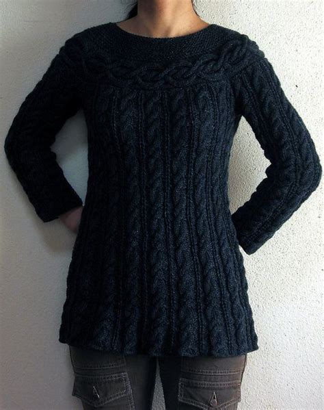 knit tunic pattern kei s cable luxe tunic free pattern knitted