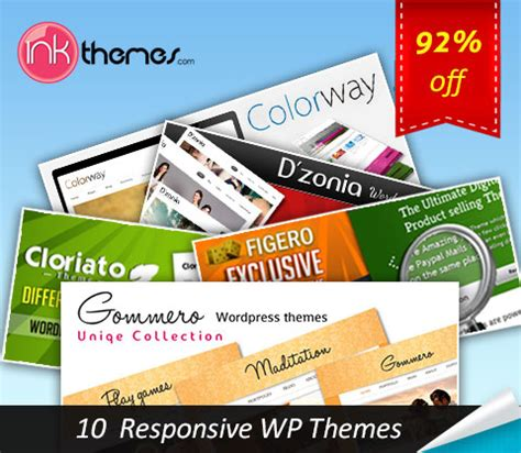 themes are limited to best responsive wordpress themes in a bundle of 10 for
