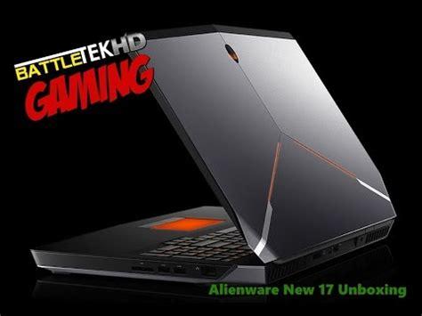 new alienware 17 unboxing