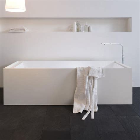 corian bathtub bathtub arlexitalia rectangular in corian freestanding