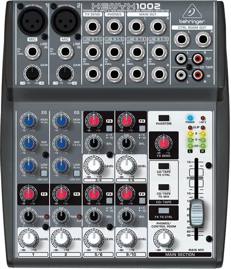 Mixer Behringer 1002 Fx behringer 1002 mixer xenyx 10 input 2 with mic pres
