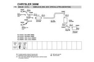 1999 Chrysler 300m Parts Walker 174 21374 Chrysler 300m 1999 2001 Resonator