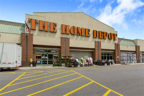 home depot a home depot with a customer at a location in