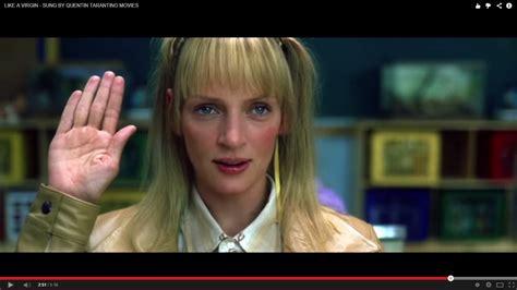 personaggi film quentin tarantino i personaggi dei film di tarantino quot cantano quot like a virgin