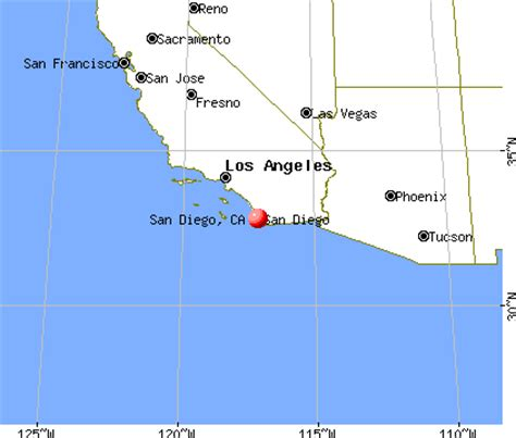 Square Miles To Square Feet by San Diego California Ca Profile Population Maps Real