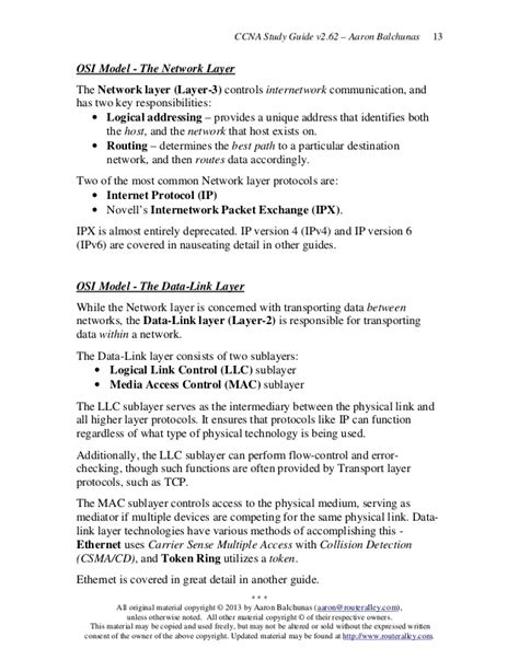 Ccna Studyguide Pdf Router Alley