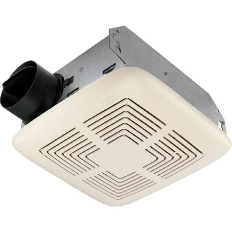 Lowes Bathroom Ceiling Fans by Shop Broan 4 Sone 70 Cfm White Bathroom Fan At Lowes