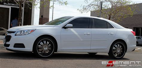 Chevrolet Wheels by Chevrolet Malibu Wheels Custom And Tire Packages