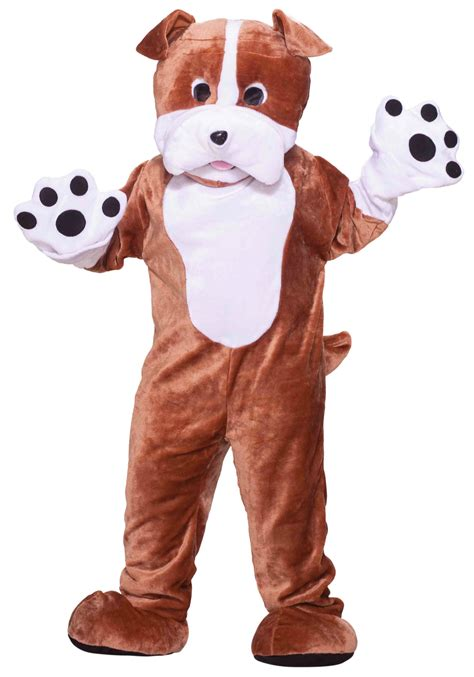 mascot costume plush bulldog mascot costume