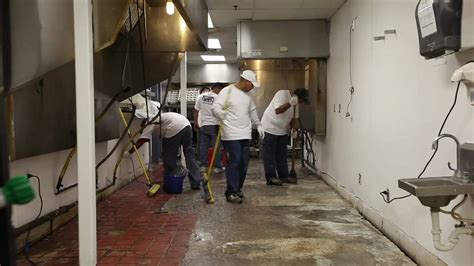Golden Corral Silikal America commercial kitchen flooring