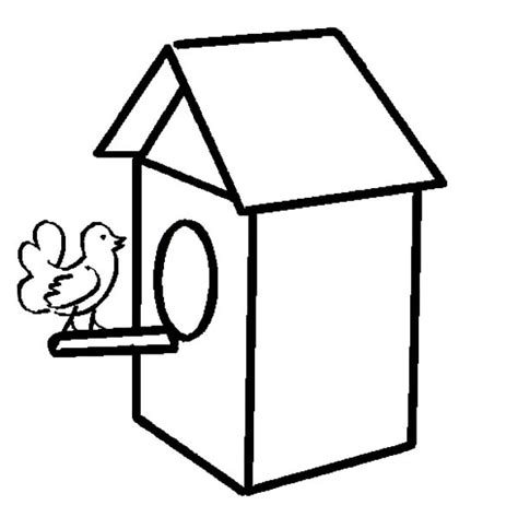 coloring pages bird houses how to draw bird house coloring pages how to draw bird