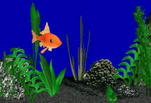 fish tank animated 1 fish.gif