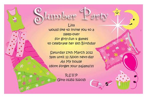 pj invitation free pajama invitations home ideas