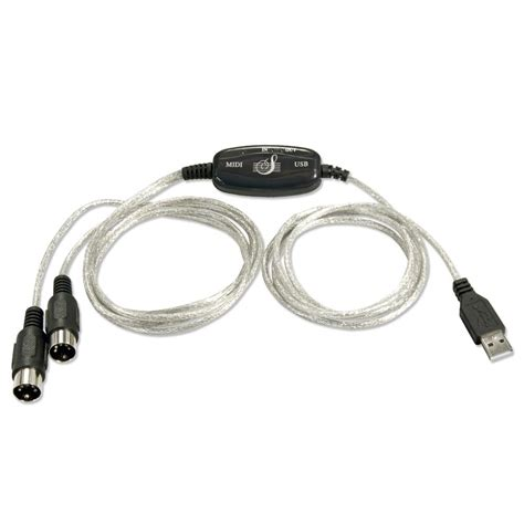 Usb Midi Cable 2m usb to midi cable from lindy uk
