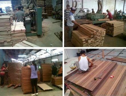 Mesin Gergaji Kayu Gelondongan jual lantai kayu berkualitas