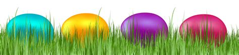 grass with easter eggs transparent png clip art image