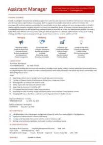 Resume For Retail Assistant Manager by Assistant Manager Resume Ingyenoltoztetosjatekok