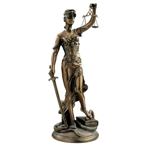 themes goddess of justice design toscano ky1107 themis goddess of justice sculpture