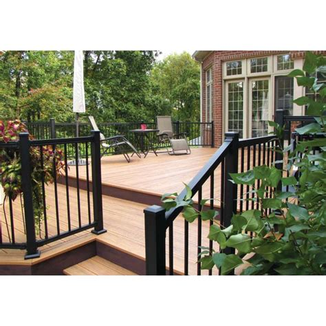 Deck Railing Sections by 6 Keystone Aluminum Railing System Quot Keystone Quot Aluminum
