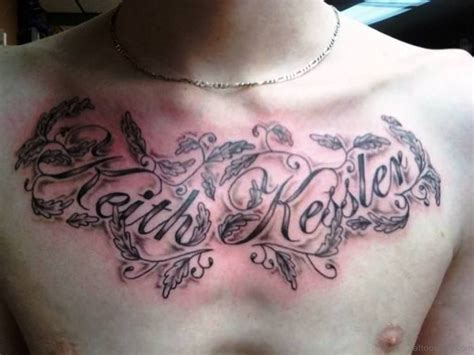 chest tattoo words designs 59 great tribal tattoos on chest