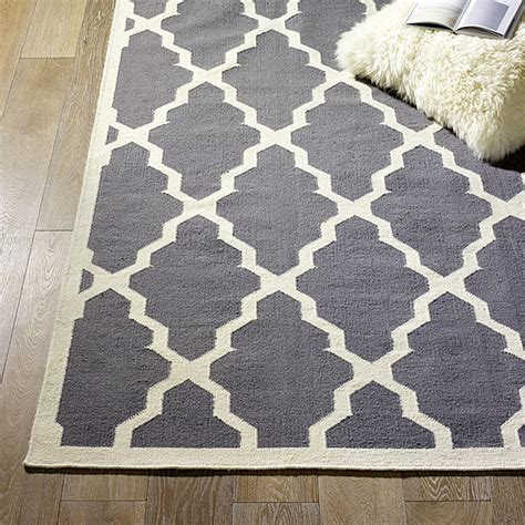diy large area rug midday muse moroccan lattice rugs popsugar home