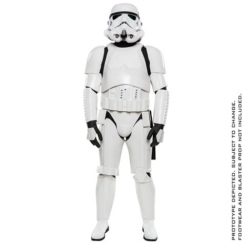 wars stormtrooper anovos stormtrooper costume attire of the clones technabob