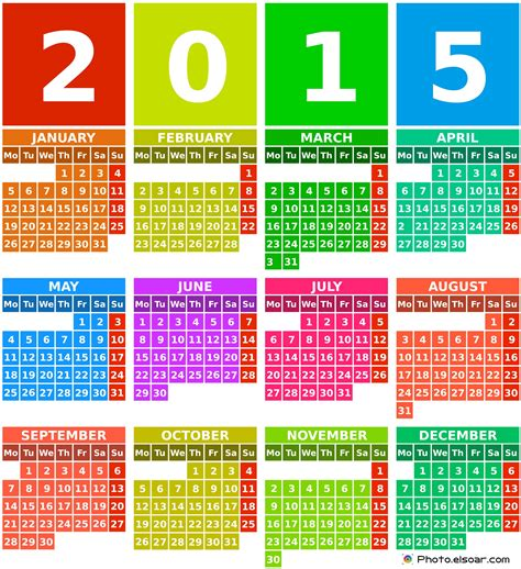 printable bookmark calendar 2015 download 2015 printable calendars ohtoptens
